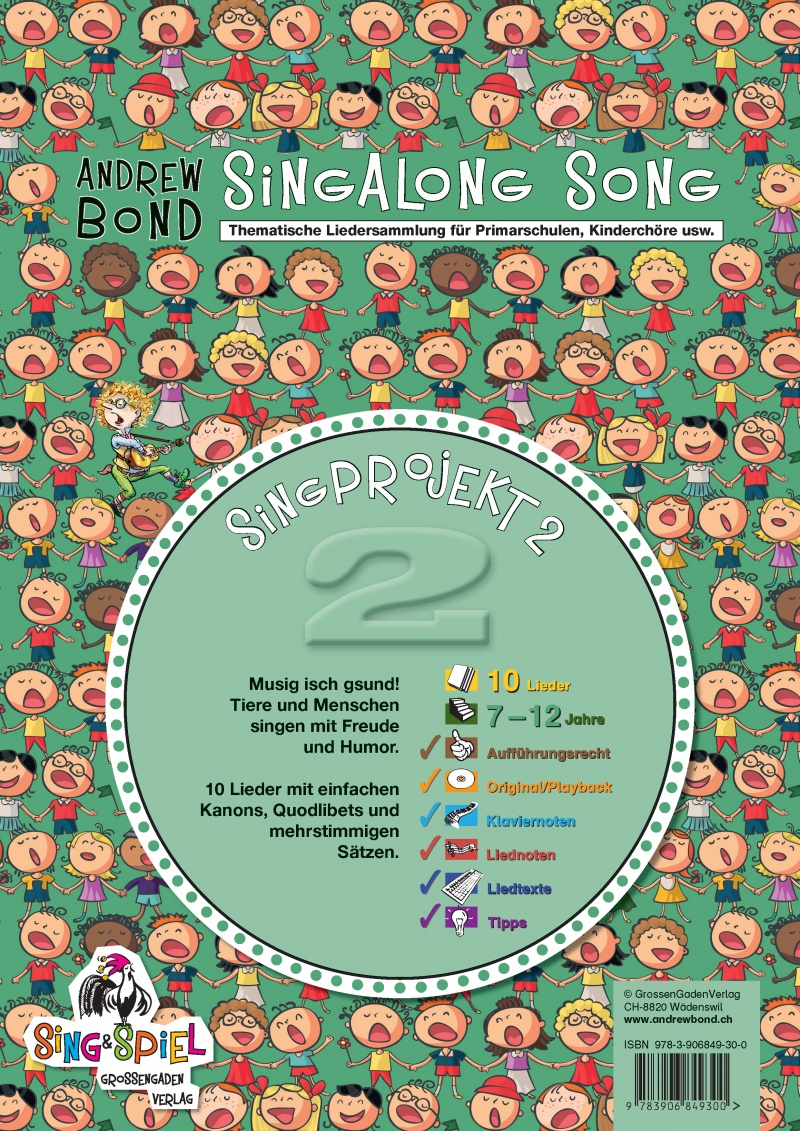 SingProjekt 02, Singalong Song