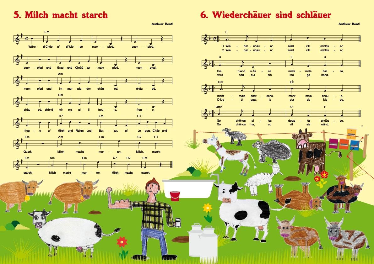 es gibt lieder über hunde